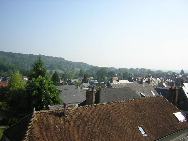 View of the village from one room
