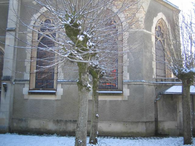 View of the chapel from the inner court